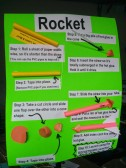 How to build an air-powered rocket.