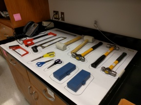 A place for every tool and every tool in its place